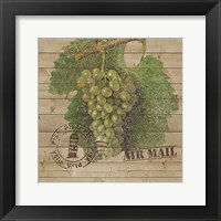 Framed Grape Crate IV