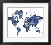 Framed Water World I