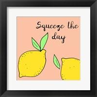 Framed Lemon Squeeze I