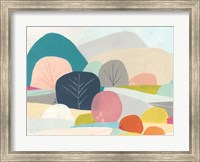 Framed Meadow Whimsy I