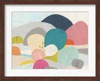 Framed Meadow Whimsy II