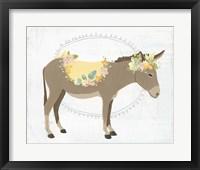 Dainty Burro II Framed Print
