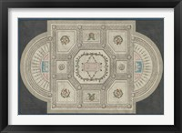 Framed Parisian Ceiling Design