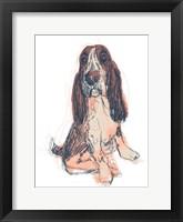 Framed Dog Portrait--Ajax