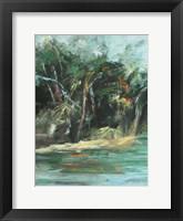 Framed Waterway Jungle I