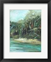 Framed Waterway Jungle II