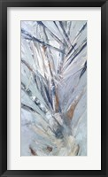 Framed Grey Palms IV
