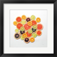 Framed Sunny Citrus II Crop