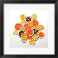 Framed Sunny Citrus I Crop