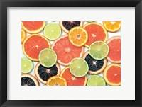 Framed Sunny Citrus IV