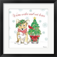 Framed Holiday Paws V