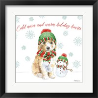 Framed Holiday Paws IV