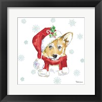 Framed Holiday Paws VIII