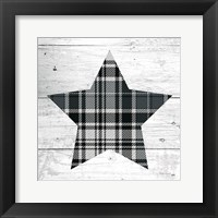 Framed Nordic Holiday XIII Plaid