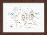 Framed World Traveler I