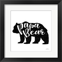 Framed Papa Bear