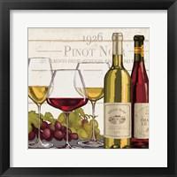 Framed Wine Tasting III