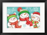 Let it Snow III Framed Print