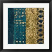Framed Juxtapose III Metallic