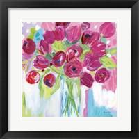 Framed Joyful Tulips