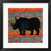 Framed African Animal IV