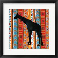 Framed African Animal III
