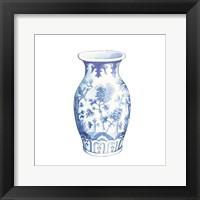 Framed Ginger Jar II on White