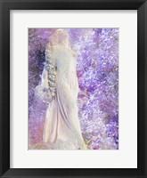 Framed Angel Awaits