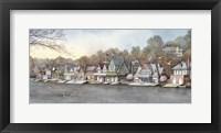Framed Boathouse Row 7