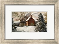 Framed Brandywine Christmas
