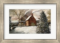 Framed Brandywine Christmas