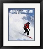 Framed Mont Tremblant