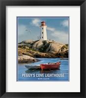 Framed Peggy's Cove