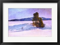 Framed Snow Shadows