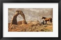 Framed Cowboy Arch