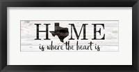 Framed Texas Home