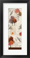Framed Fall Time Panel