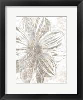 Framed Silver Blooms 1