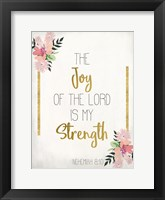 Framed Joy of The Lord