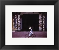 Framed Follower of Cao Dai, Tay Ninh Temple