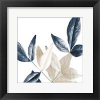 Framed Midnight Leaves 2