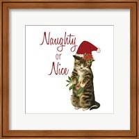 Framed Cat Christmas 3