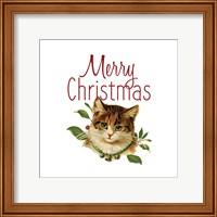 Framed Cat Christmas 4