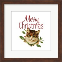 Framed Cat Christmas 4