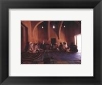 Framed luc Manaud - Agaditi Portes du Desert