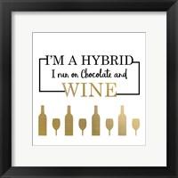 Framed Just Wine 3