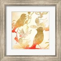 Framed Colorful Birds 1