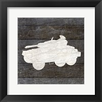 Framed Military Vehicle 4