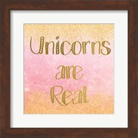 Framed Unicorns are Real 2