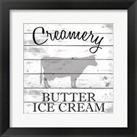 Framed Creamery